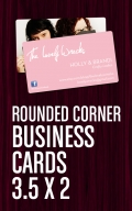 Rounded Corner Bus Cards